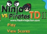 Ninjas vs Pirates Tower Defense 2